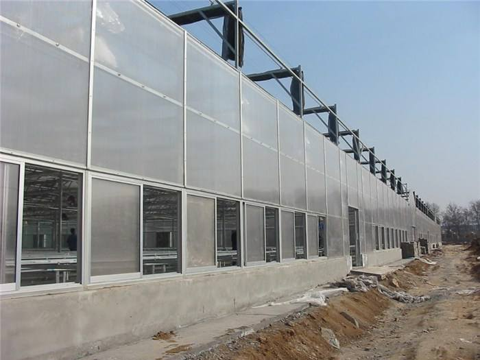 智能阳光板温室