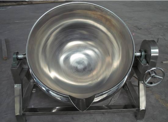 500L电磁行星搅拌炒锅