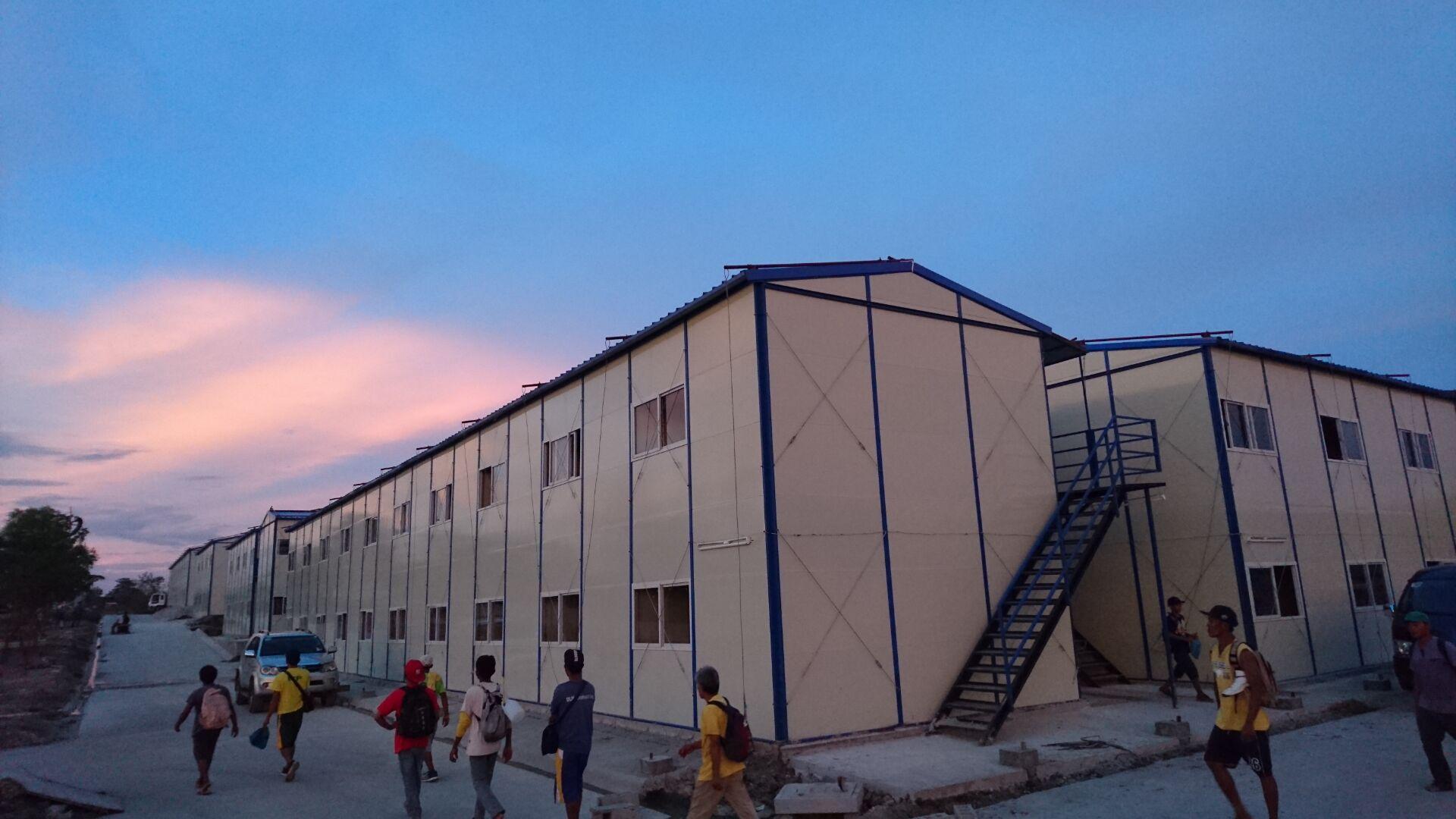 海外活动房出口-菲律宾变电站项目