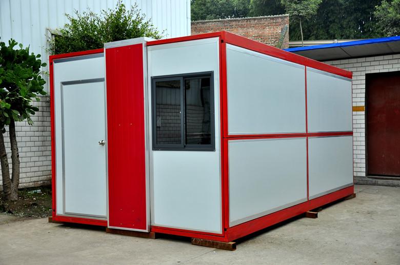 折叠式集装箱
