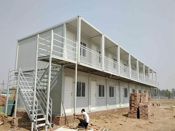 彩钢板活动房搭建