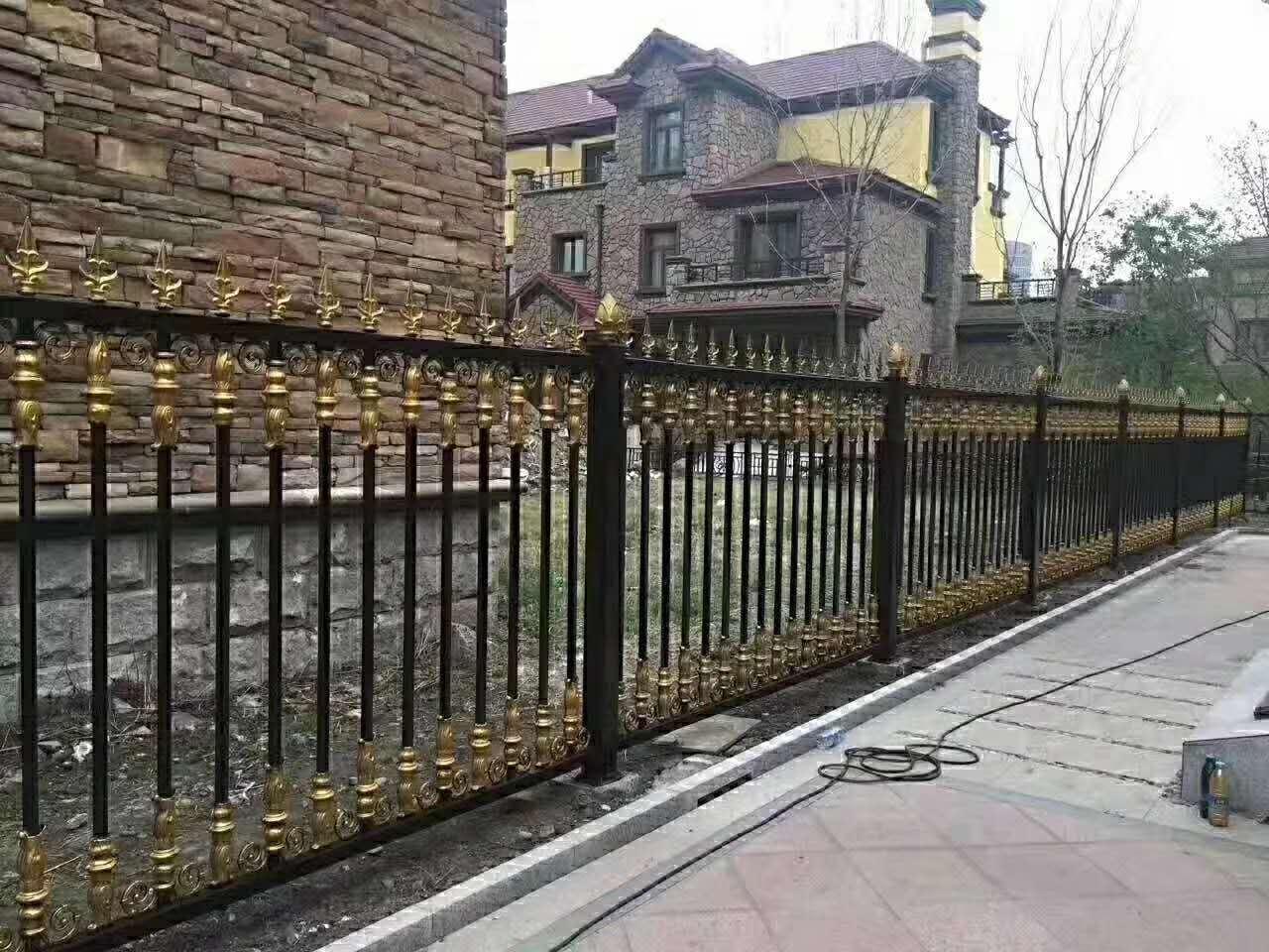 湖南庭院铝艺栏杆
