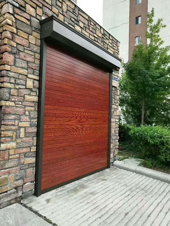 高档仿木型材门