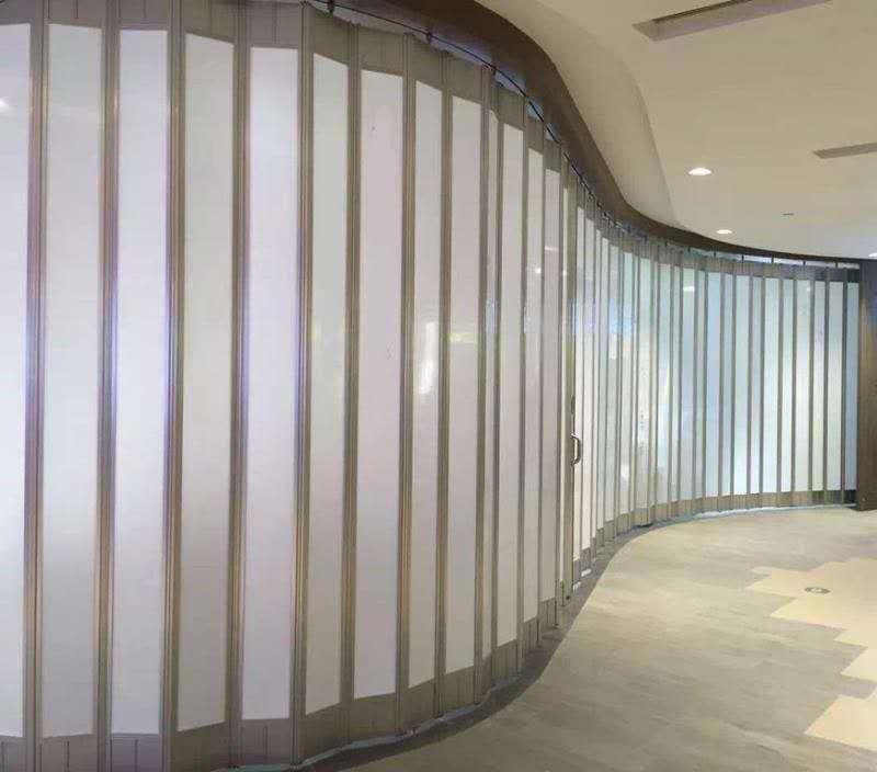 长沙水晶折叠门