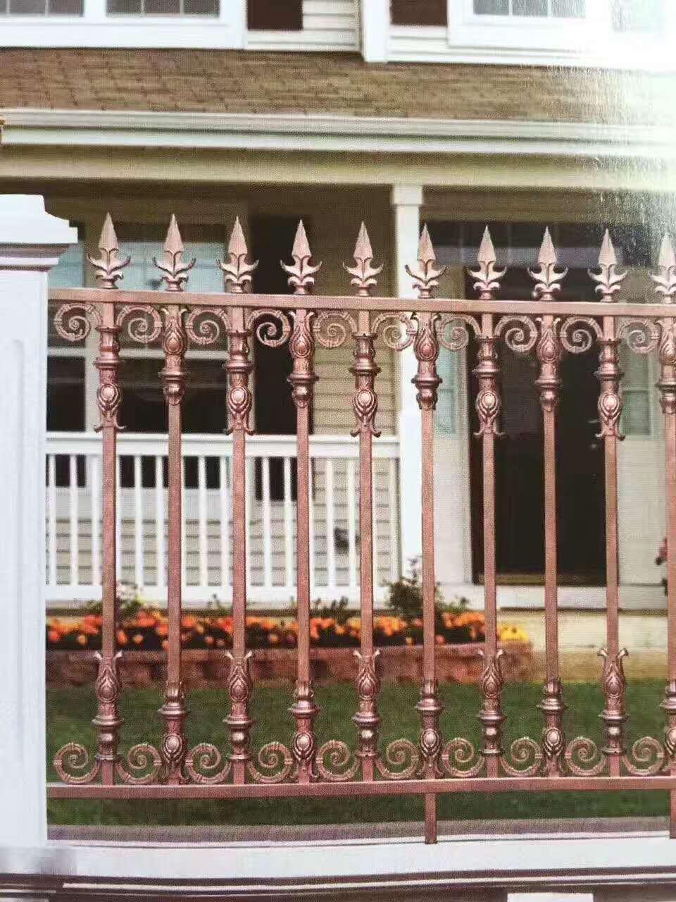 长沙庭院铝艺栏杆