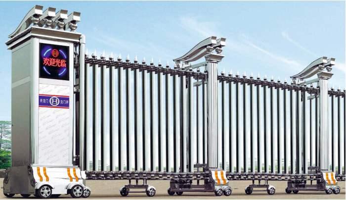 长沙电动门厂家介绍伸缩门的用途