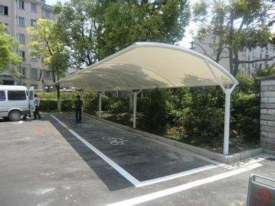 膜結構自行車停車棚