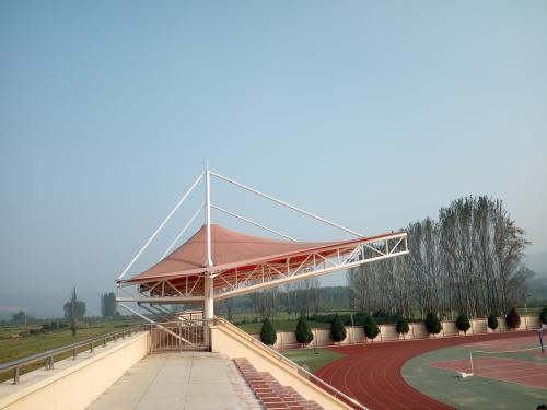 学校看台膜结构