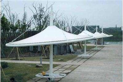 室外膜結構遮陽棚