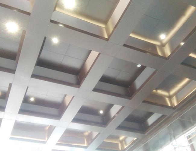 福清诺希集团办公楼接待中心铝单板幕墙