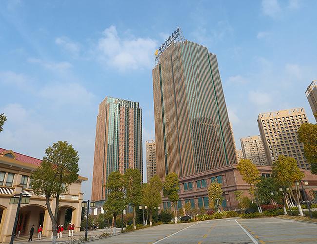 福州贵安温泉世界冲孔铝单板