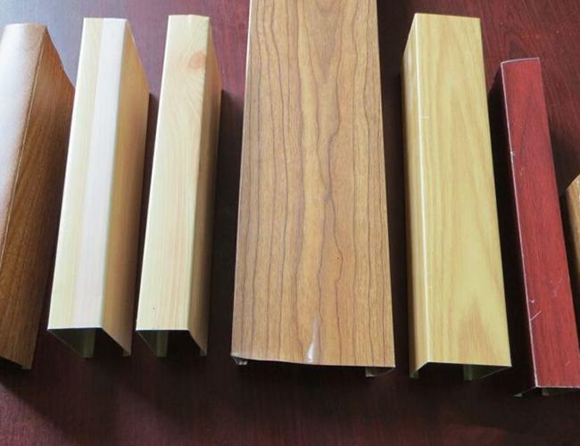 鋁方通木紋