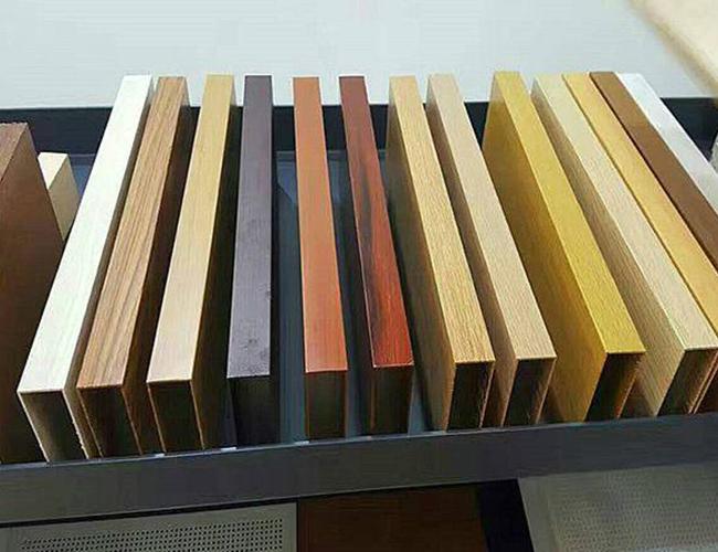 仿木紋鋁方通