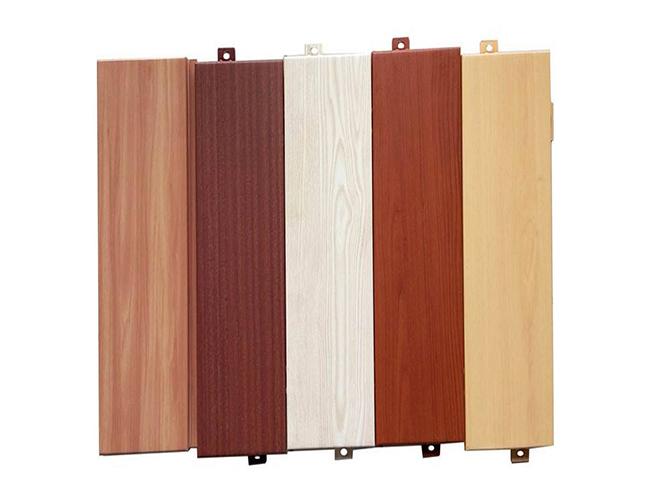 室外木紋鋁單板