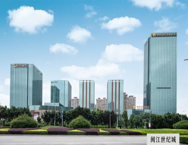闽江世纪城外墙装饰铝单板项目