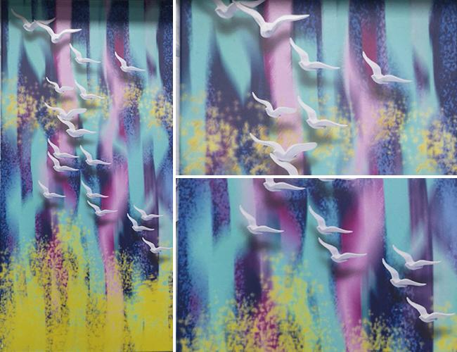3d彩绘墙面铝单板