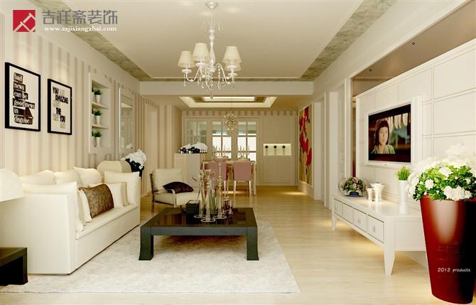 小户型客厅装修效果图--吉祥斋