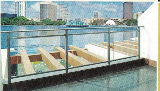 阳台护栏系列案例