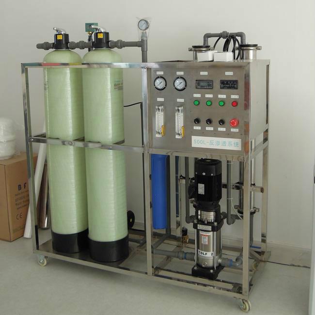 河北/張家口軟化水設備與純凈水設備的區別與聯系