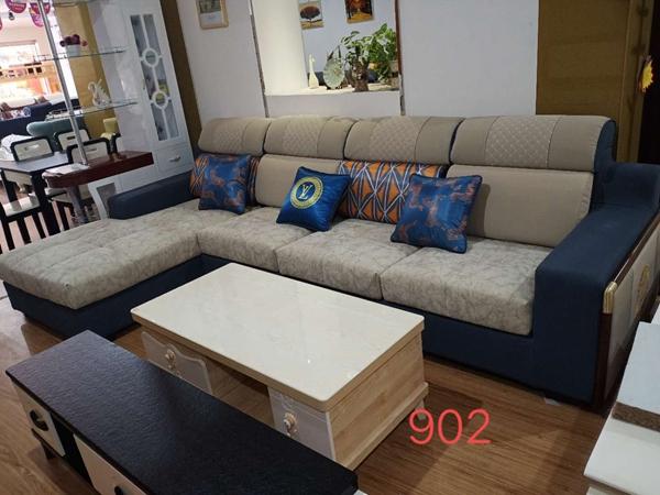 江油中式混搭布艺沙发