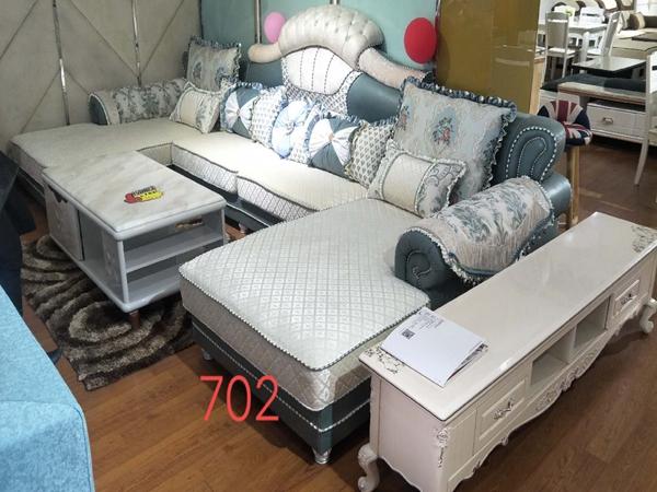 江油白色欧式客厅布艺沙发