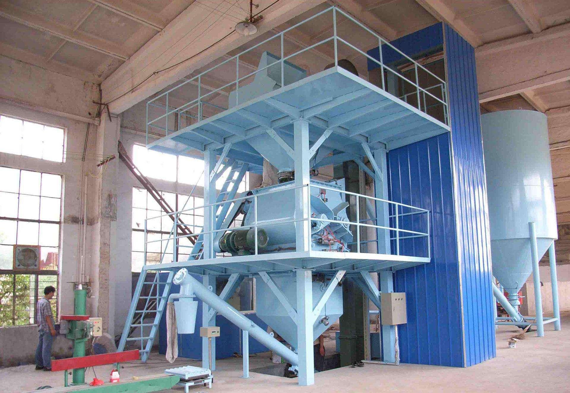干粉砂浆设备质量成本指导企业总成本控制