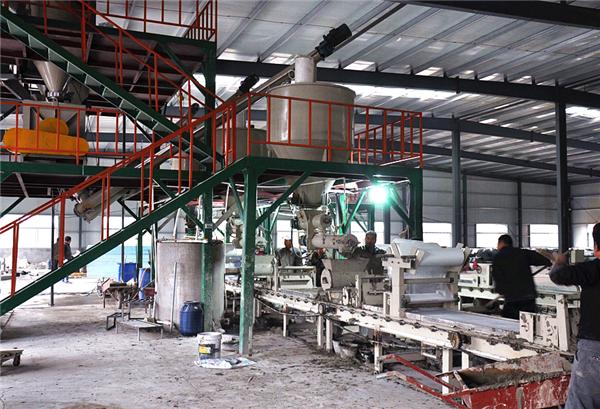 干粉砂浆设备的使用要具有保养性
