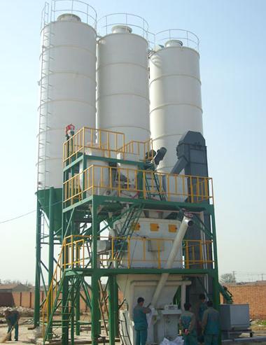 JB-300型全自动干粉砂浆设备
