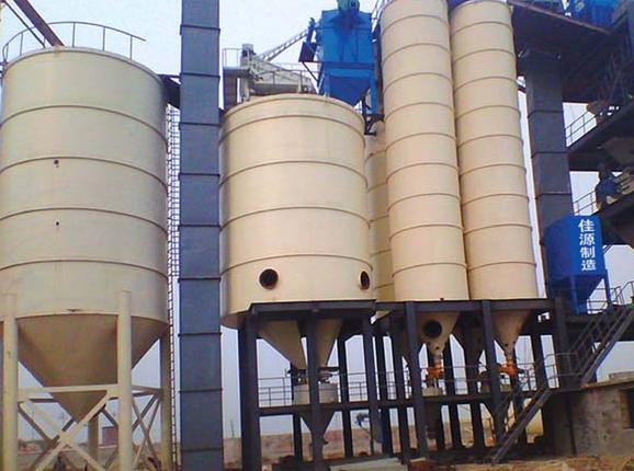 500型商品预拌干混砂浆生产线