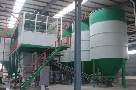 500型商品预拌干混砂浆生产线.