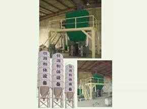 JB-120型干粉砂浆生产线.
