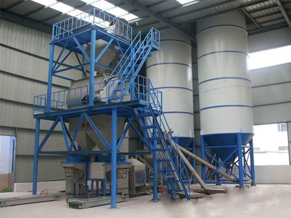 讲解一下关于干粉砂浆设备的操作顺序