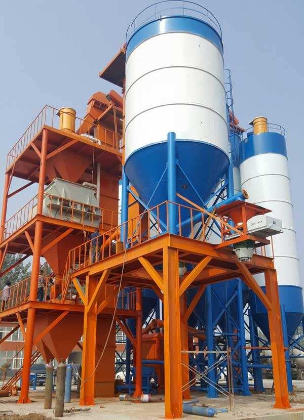 你知道干粉砂浆生产线的分类都有什么吗?