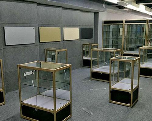 福州钛合金精品展示柜