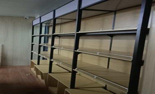 木纹转印超市货架