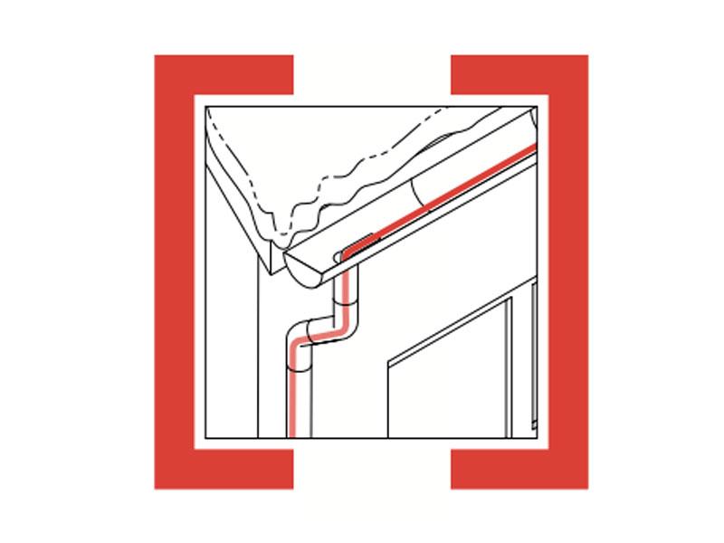 屋面天沟除冰系统