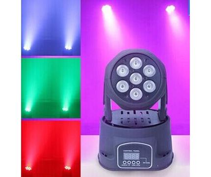 YF-798-LED7顆10W搖頭燈