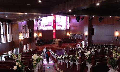 北辰教堂  燈光音響、LED大屏顯示體系