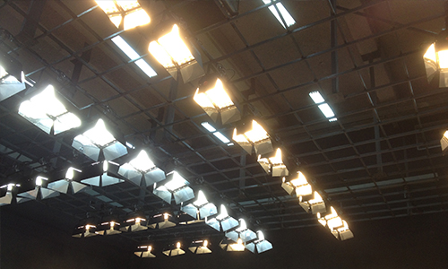台灣藝術學院虛擬演播廳燈光體系
