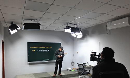 澤爲教導錄播室燈光體系