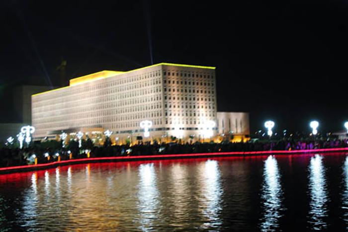 2018年9月與武漢青山區政府合作項目已安裝調試完成
