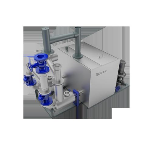 雙泵外置式污水提升器
