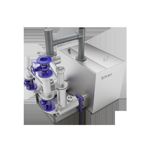 雙泵內置式污水提升器