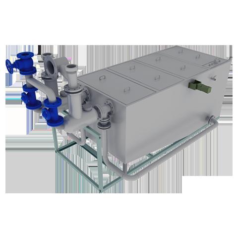 全自動強排除渣油水分離設備
