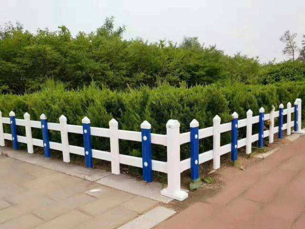 pvc绿化草坪护栏