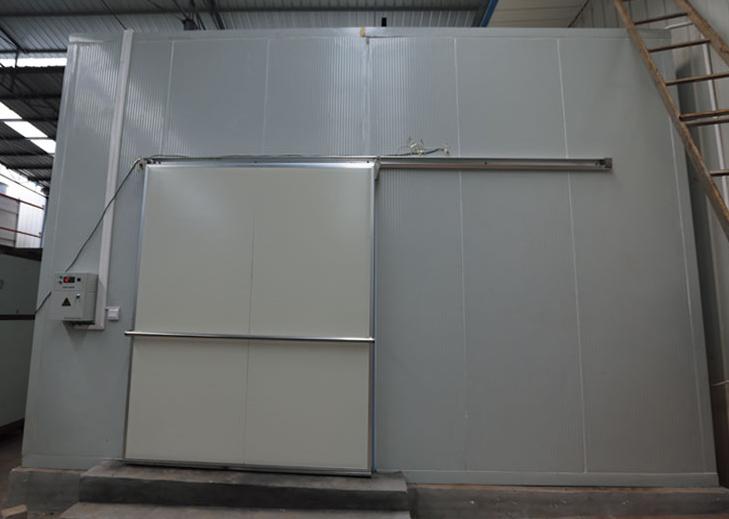 新疆和田洛浦县乡镇企业局2017年新建组装式50吨ZK305冷藏库