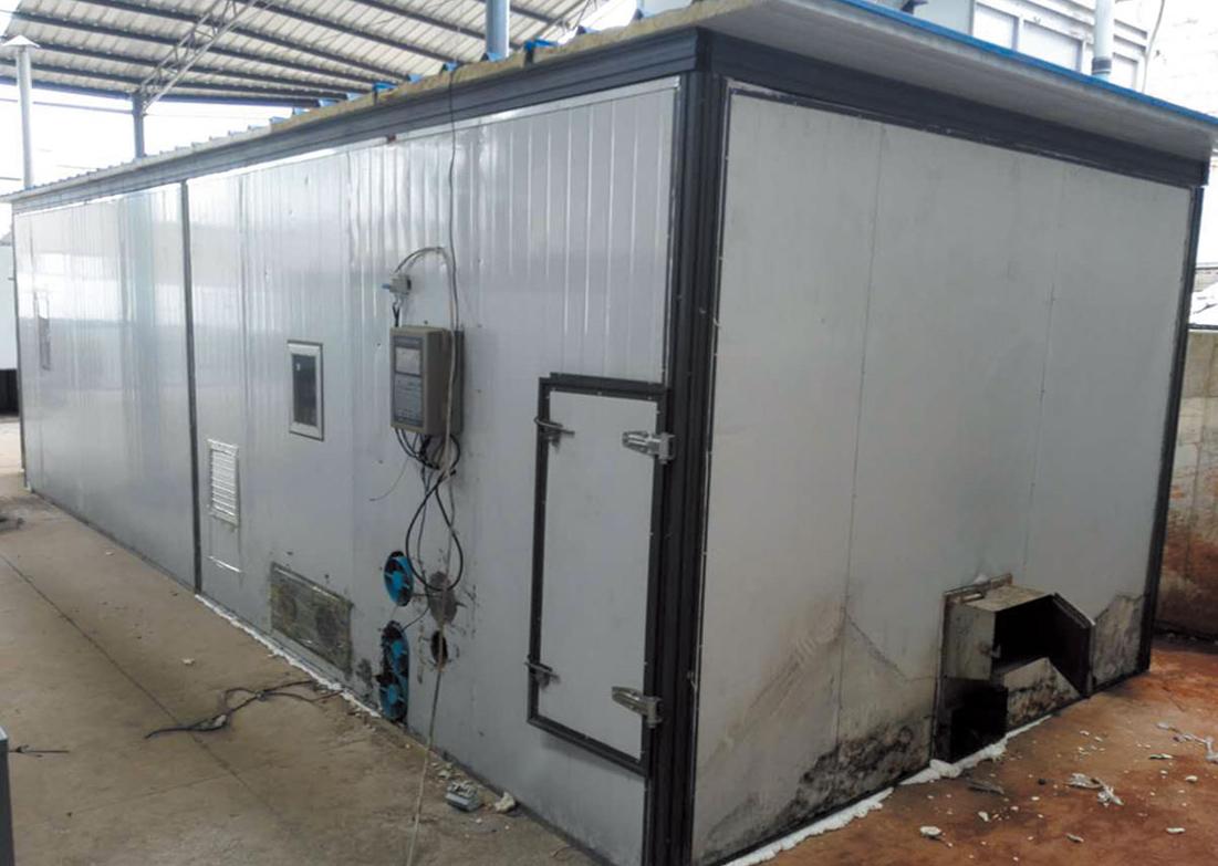 新疆阿克苏市农业局果蔬热风烘干房及冷藏库项目