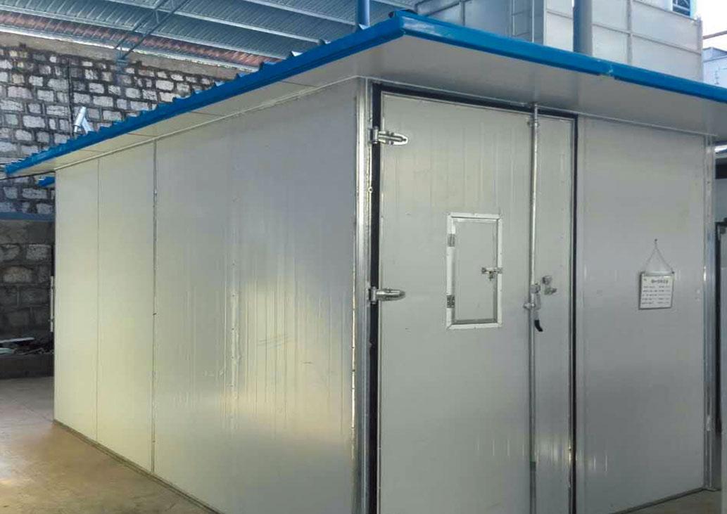 新疆阿瓦提县农业局果蔬热风烘干房及冷藏库存建设