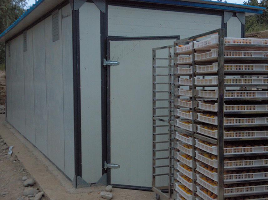 贵州省遵义市烟草商业农业局密集烤房设备项目
