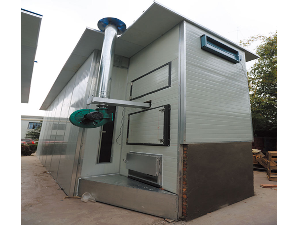 4吨隧道式加煤烘烤炉